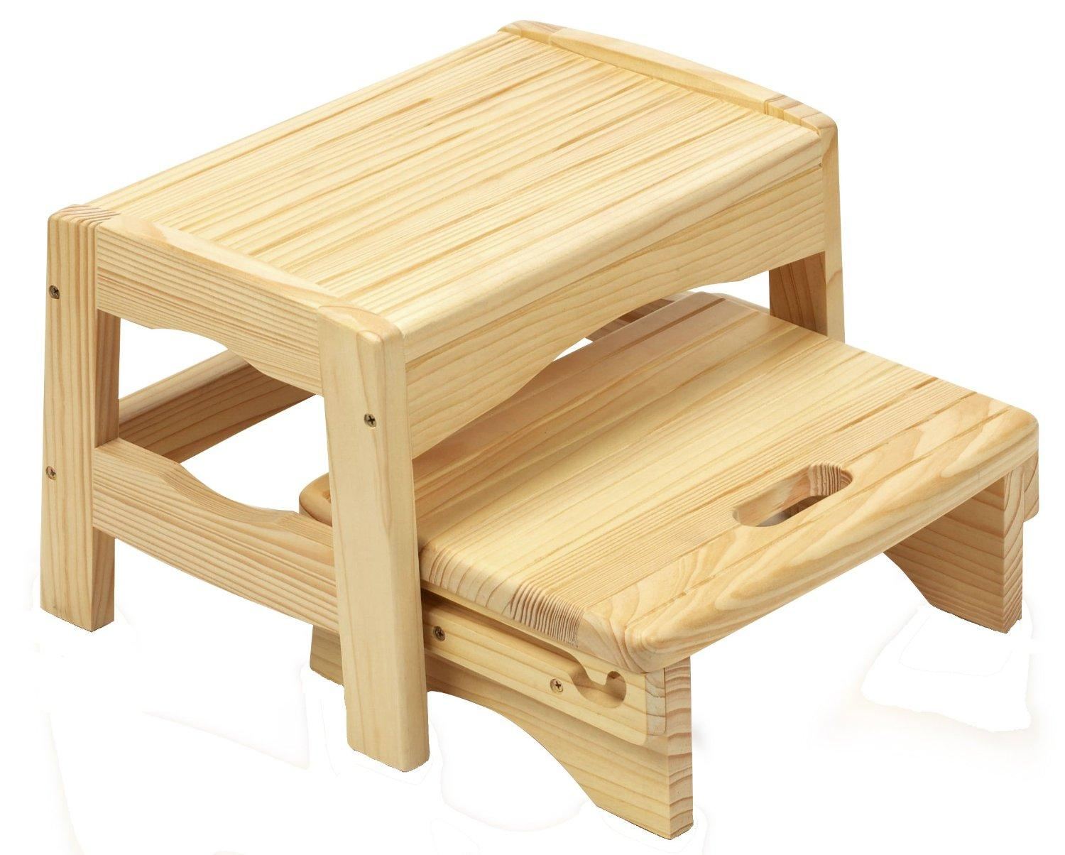 Safety 1st Wooden 2 Step Stool Safety 1st Amazon Co Uk Baby