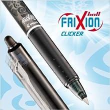 FriXion, Erasable, rollerball, gel pen, pen, writing, Pilot Pen, retractable, refillable
