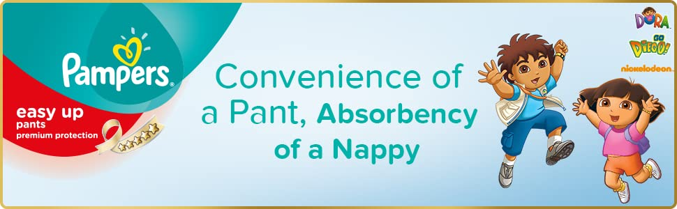 Pampers Easy Ups Nappies