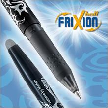 FriXion, Erasable, rollerball, gel pen, pen, writing, Pilot Pen, refillable