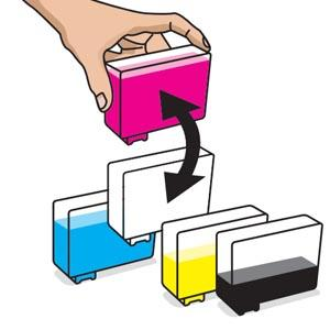 how to set printer to print black ink only