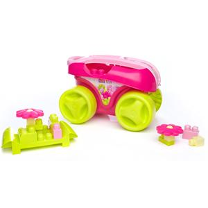 Bloks First Builders Big Block Wagon Pink