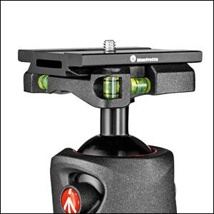 XPRO Ball Head in Magnesium with Top Lock Spirit Level