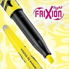FriXion, Erasable, highlighter, gel pen, pen, writing, Pilot Pen