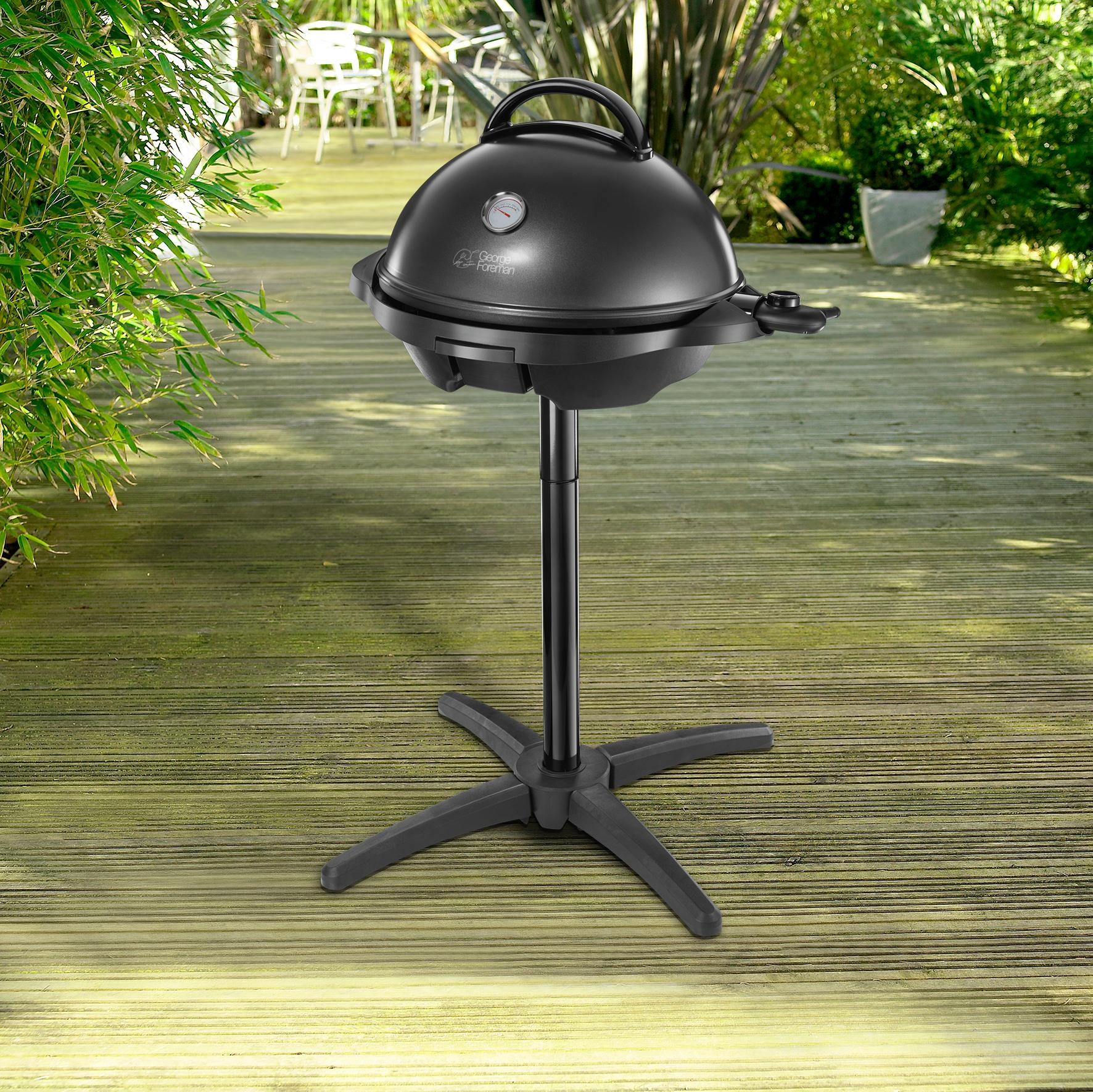 George foreman 22460 indoor and outdoor electric bbq grill for George foreman grill fish