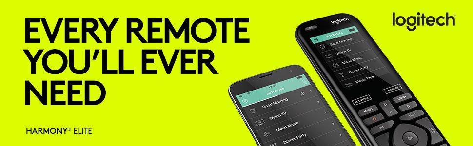Logitech Harmony Elite Universal Remote Control 915 000258