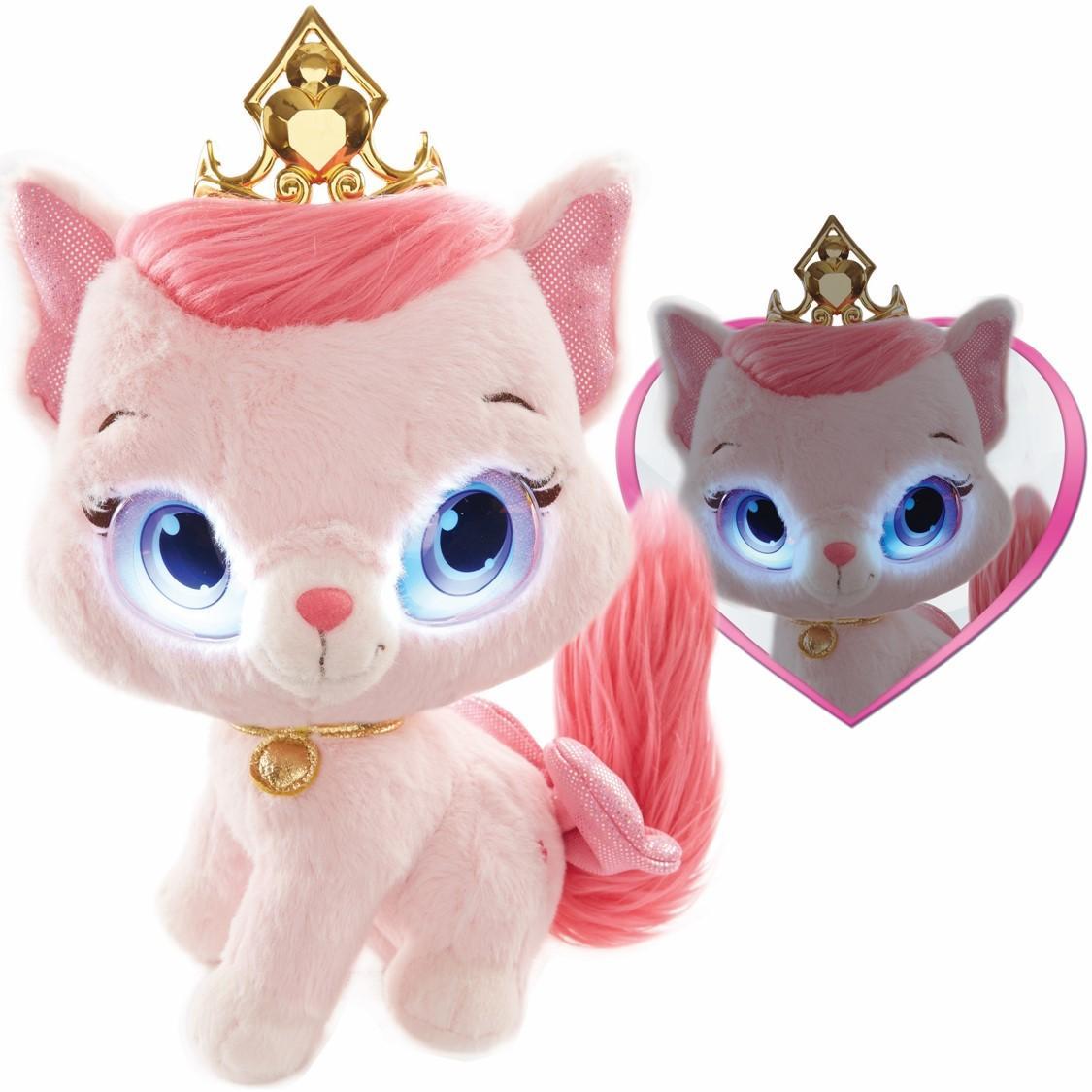 Disney princess palace pets bright eyes feature plush for Amazon com pillow pets