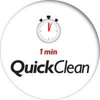 Quick clean--1 minute