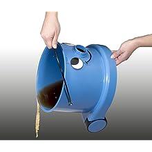 Emptying the Numatic Charles Bagged Multi-Purpose Vacuum
