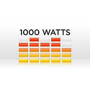 1000-watt peak power