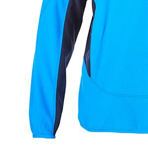 half zip prism micro fleece cuffs, half zip prism micro fleece hem