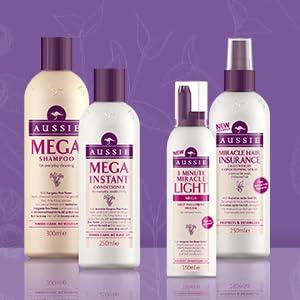 Aussie Mega shampoo and conditioner