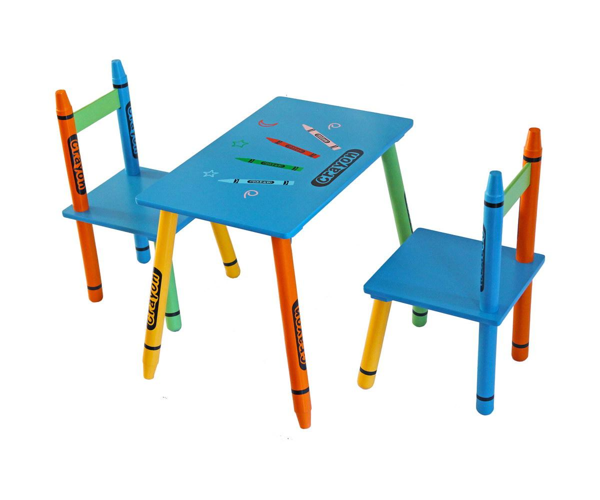 Bebe style childrens wooden table and chair set for Table and chair set