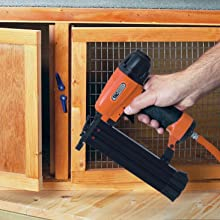 fencing nail gun, skirting board, door frames