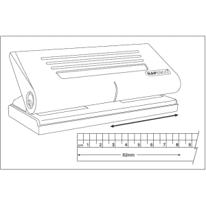 filofax hole punch, a5 hole punch, a5 paper puncher, a5 paper hole punch