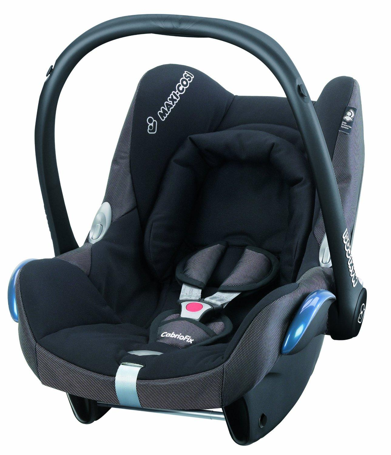 maxi cosi cabriofix group 0 infant carrier car seat black reflection baby. Black Bedroom Furniture Sets. Home Design Ideas