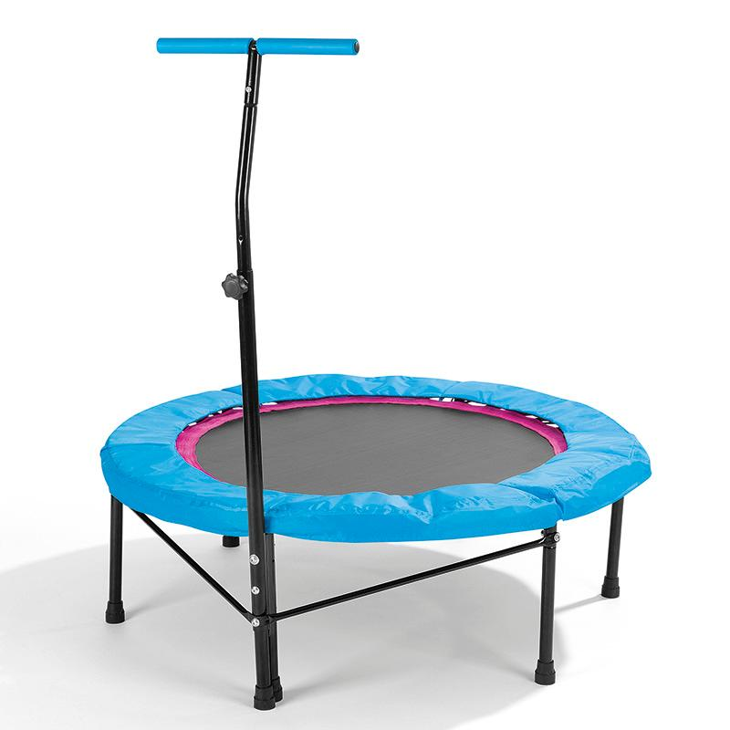 power maxx trampoline jumping fitness black blue amazon. Black Bedroom Furniture Sets. Home Design Ideas