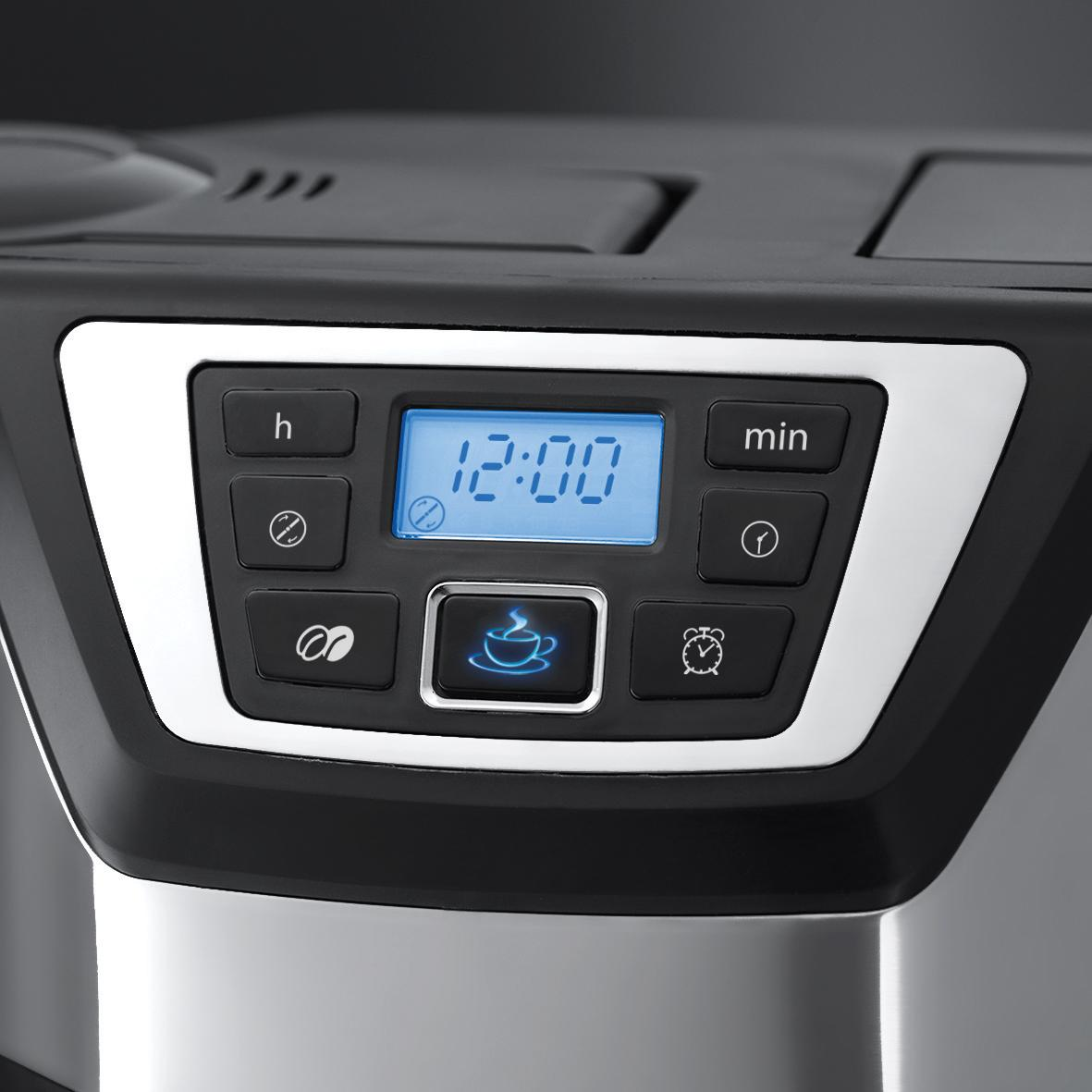 Russell Hobbs Bean To Cup Coffee Maker : Russell Hobbs 22000 Chester Grind and Brew Coffee Maker Stainless Steel Black