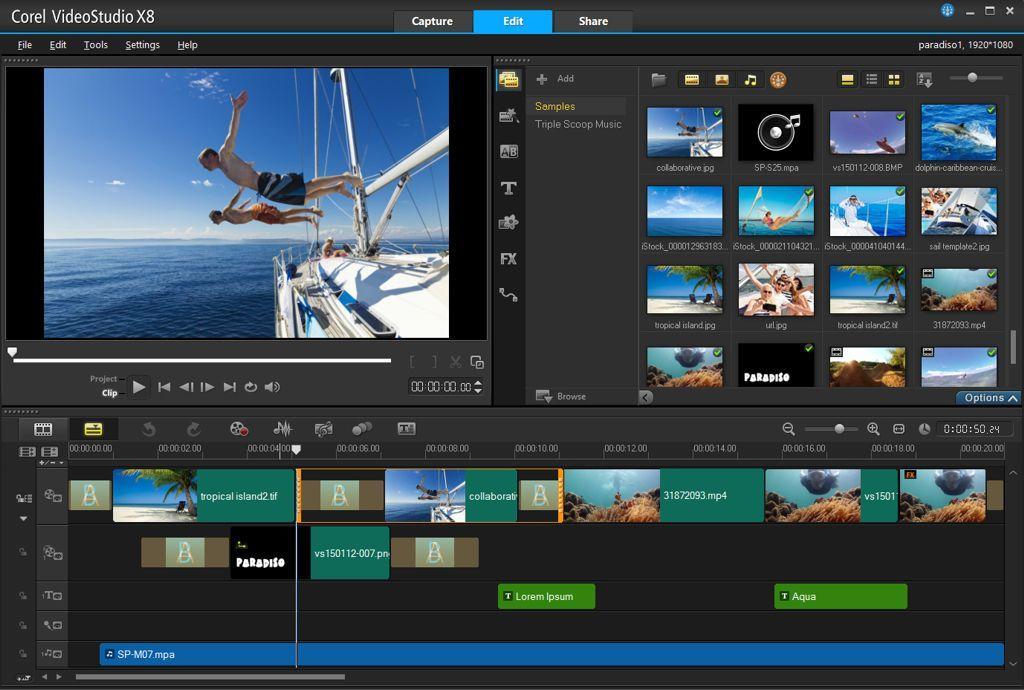 المونتاج Coral Video Studio بإصداره الإضافات 2016 bdef0a64-508b-4294-a