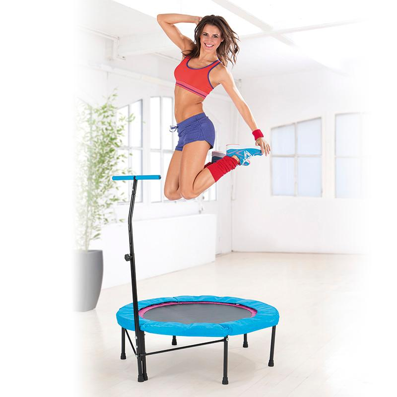 power maxx trampoline jumping fitness black blue sports outdoors. Black Bedroom Furniture Sets. Home Design Ideas