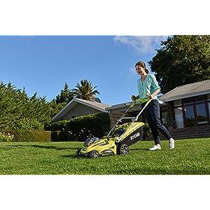 Lawnmower, cutting, grass