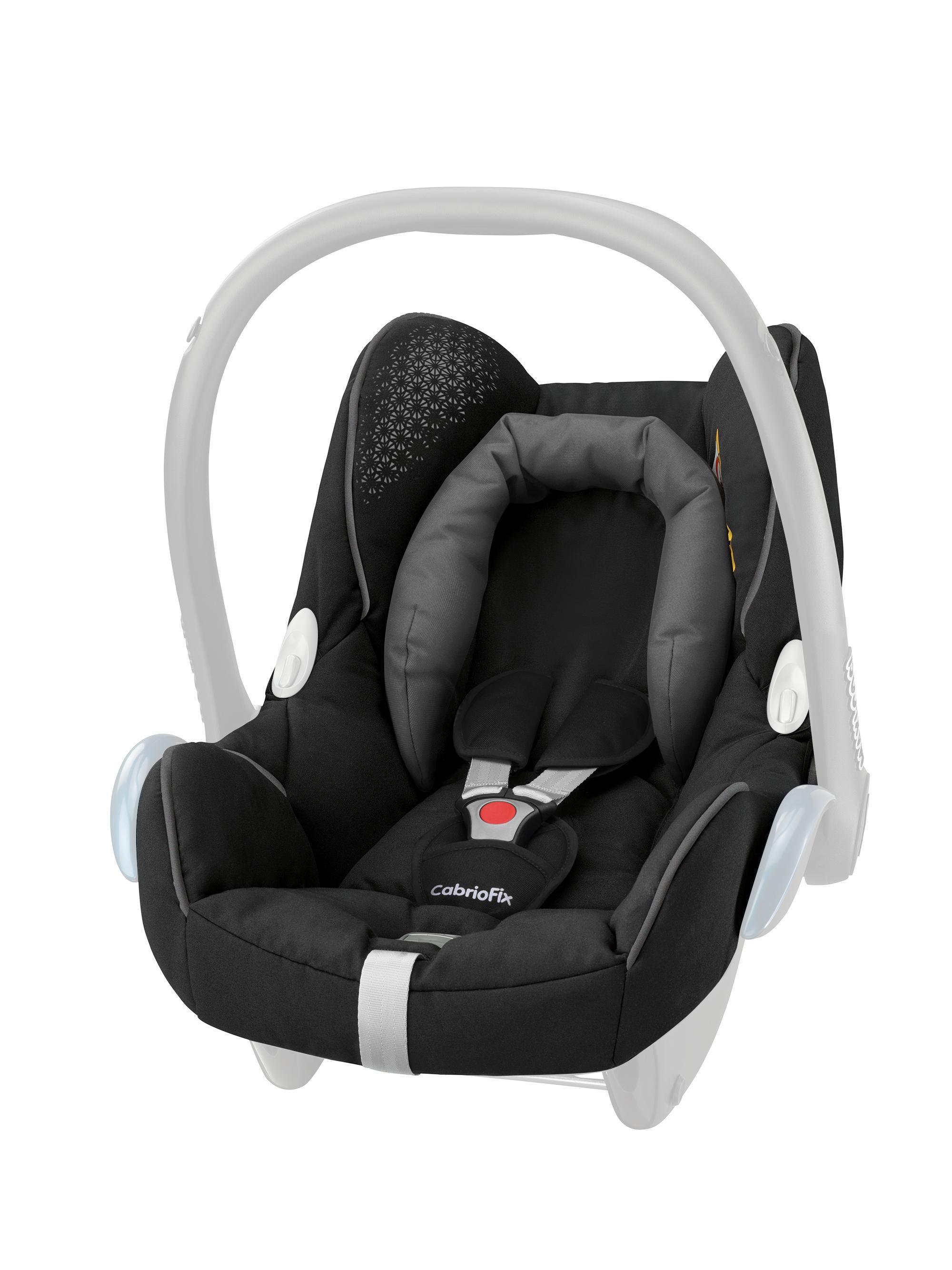 maxi cosi cabriofix seat cover origami black baby. Black Bedroom Furniture Sets. Home Design Ideas