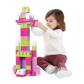 Mega Bloks First Builders Big Building Bag Pink