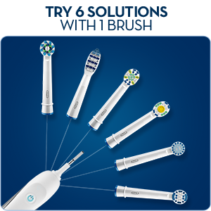 Oral-B Floss Action Electric Toothbrush Replacement Heads 4 pack