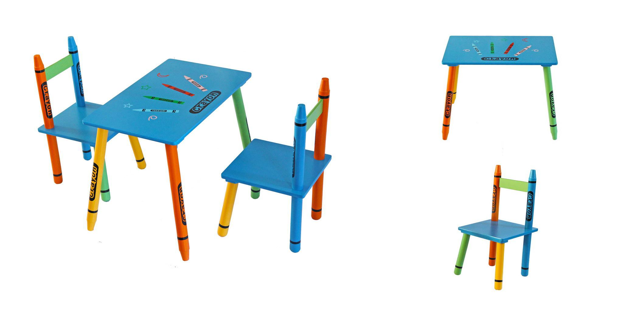 Bebe Style Childrens Wooden Table And Chair Set Amazonco