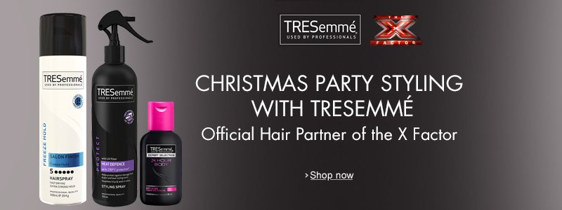 Christmas Party Styling with TRESemme