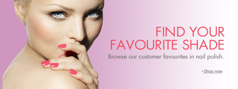 Customer Favourites in Nail Polish