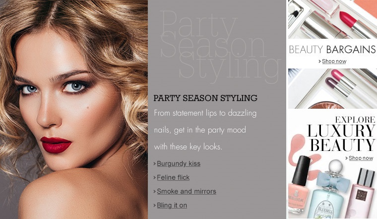 Party Season Stlying 2014