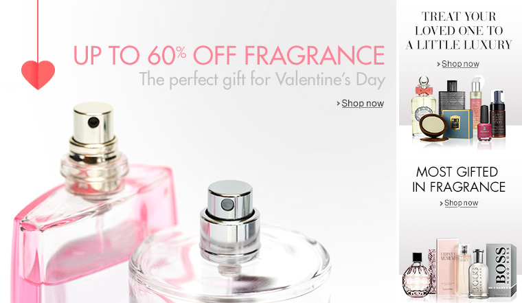 Up to 60% Off Fragrance