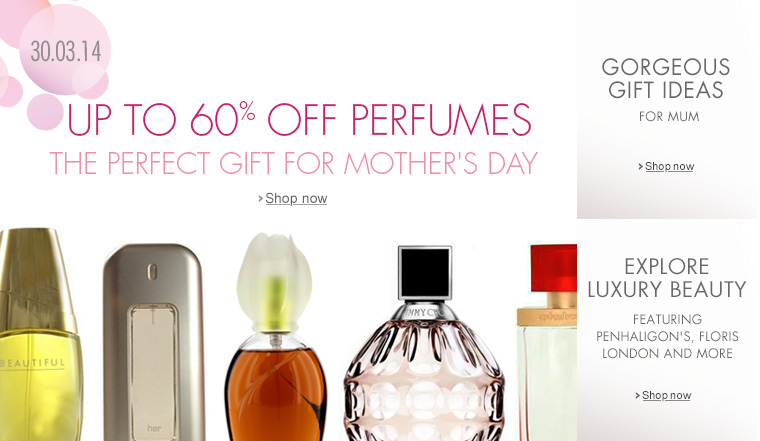 Up to 60% Off Perfume