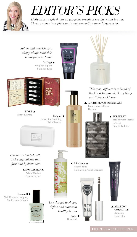 Luxury Beauty Editor's Picks