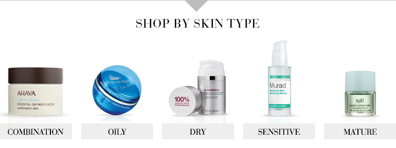 Shop by skin type