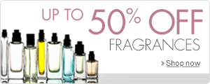 Up to 50% Off Fragrance