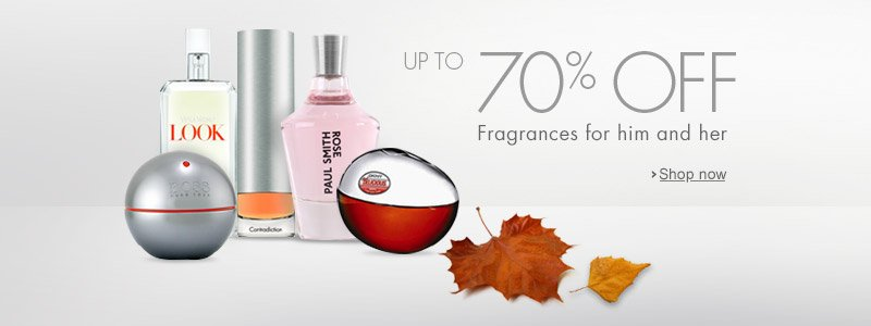 Fragrance 70% Off