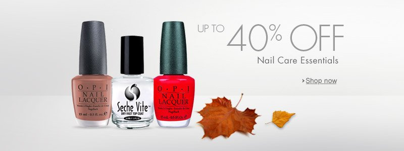 Autumn Savings Nail Care