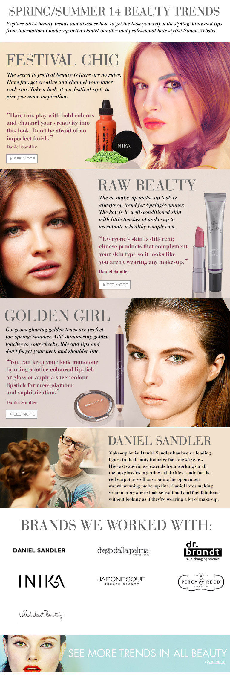 Spring Summer Beauty Trends
