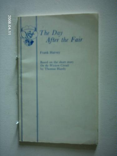 Day After the Fair (Acting Edition) Frank Harvey