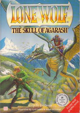 The skull of Agarash, il Teschio di Agarash, pdf gratis, Joe Dever, Lupo Solitario, Lone Wolf
