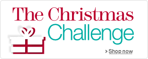 The Christmas Challenge. Shop now.