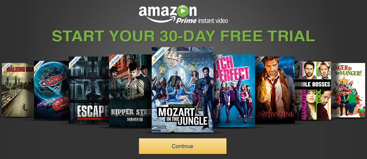 Try Prime Instant Video - Sign up for your 30-day free trial now