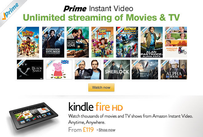 Family Films on Prime Instant Video