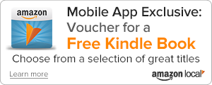 Mobile App Exclusive: Voucher for a free Kindle book