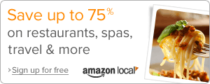 Save up to 75% with Amazon Local