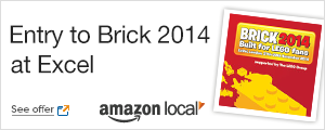 Entry to Brick 2014 from Amazon Local