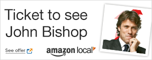 Tickets to see John Bishop from Amazon Local