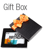 Gift cards in a gift box